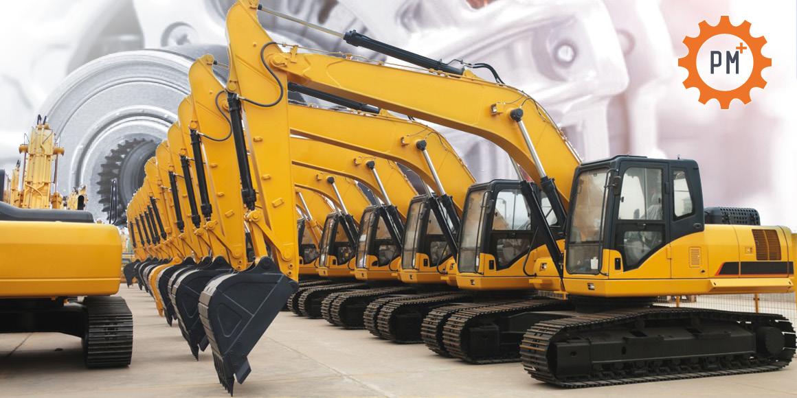 резервни части за различни строителни машини